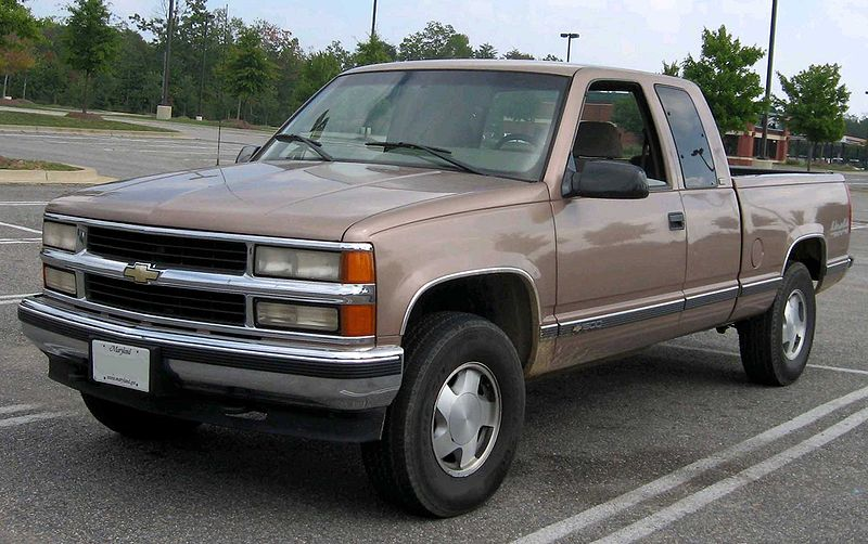 the chevrolet c k is a family of full size pickup trucks that general