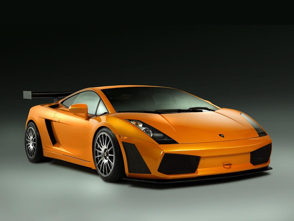 Compare the black Lamborghini